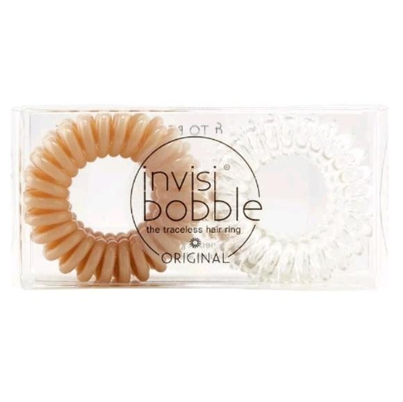 Invisibobble Accessories - * Invisibobble Original 6pk Crystal Clear, Nude To